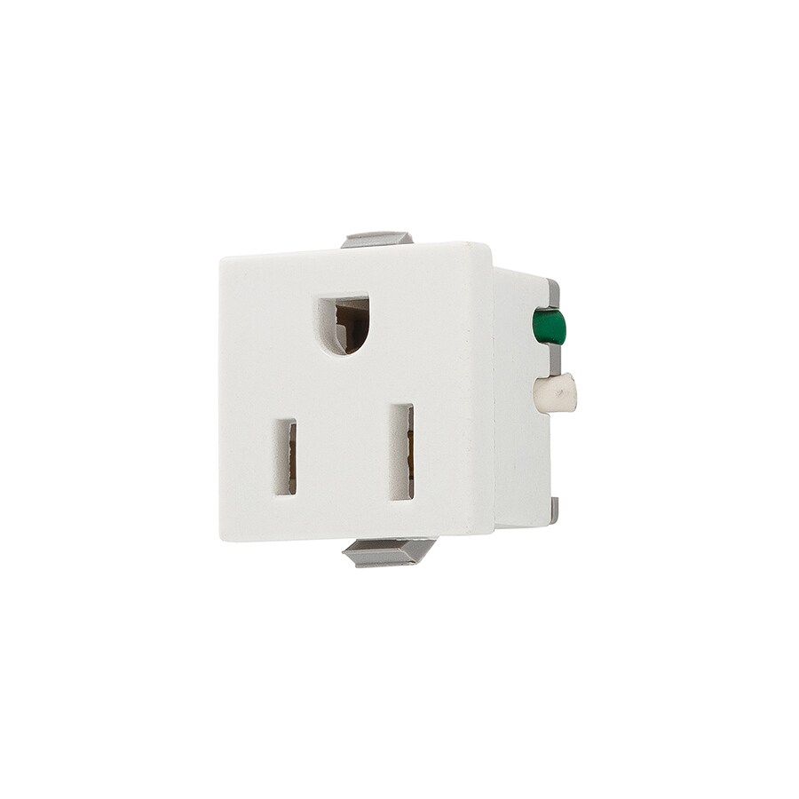 medium resolution of eaton white 15 amp square residential outlet