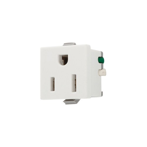 small resolution of eaton white 15 amp square residential outlet
