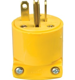 cooper wiring devices 20 amp 250 volt yellow 3 wire [ 900 x 900 Pixel ]
