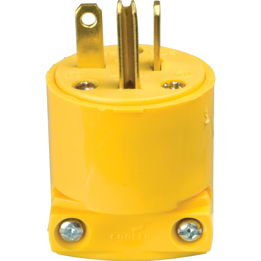 medium resolution of cooper wiring devices 20 amp 250 volt yellow 3 wire