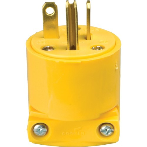 small resolution of cooper wiring devices 20 amp 250 volt yellow 3 wire