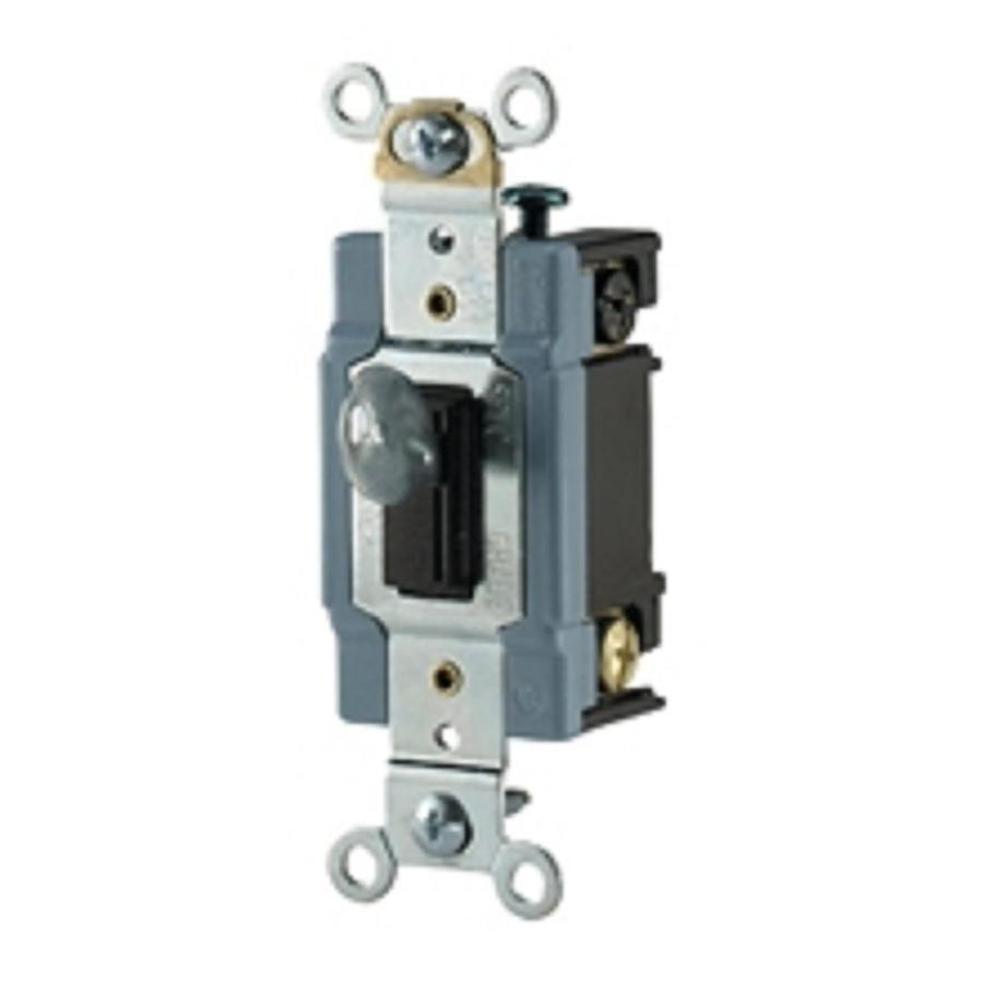 medium resolution of shop cooper wiring devices double pole brown light switch at lowescom