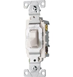 cooper wiring devices 3 way white commercial light switch [ 900 x 900 Pixel ]