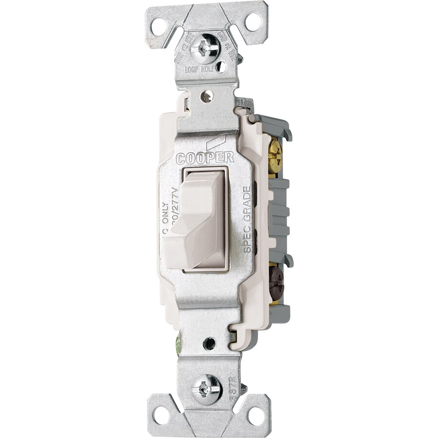 medium resolution of cooper wiring devices 3 way white commercial light switch at lowes com cooper light switch wiring diagram