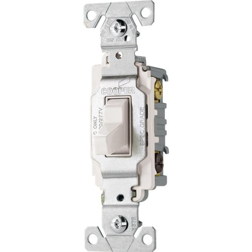 small resolution of cooper wiring devices 3 way white commercial light switch at lowes com cooper light switch wiring diagram
