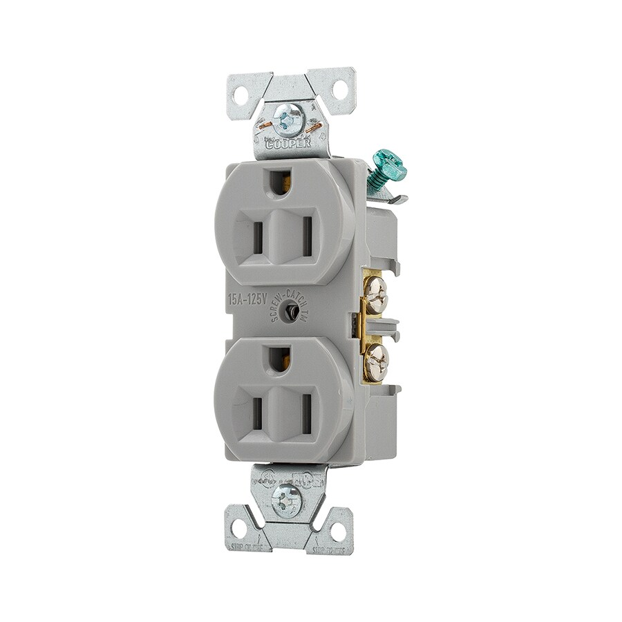 medium resolution of shop cooper wiring devices 20amp black single electrical outlet at shop cooper wiring devices 20amp white single electrical outlet at