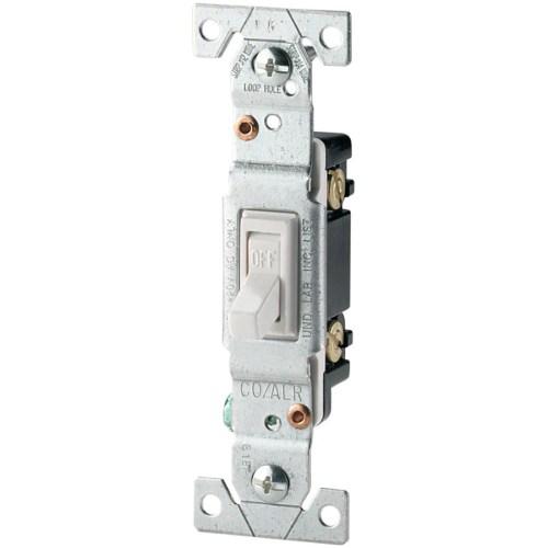 small resolution of eaton 15 amp single pole white toggle residential light switch ateaton 15 amp single pole white