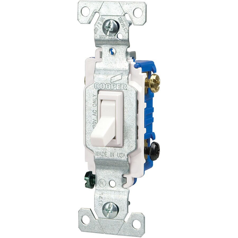medium resolution of eaton 15 amp 3 way white toggle light switch at lowes com eaton rocker switches eaton switch diagram