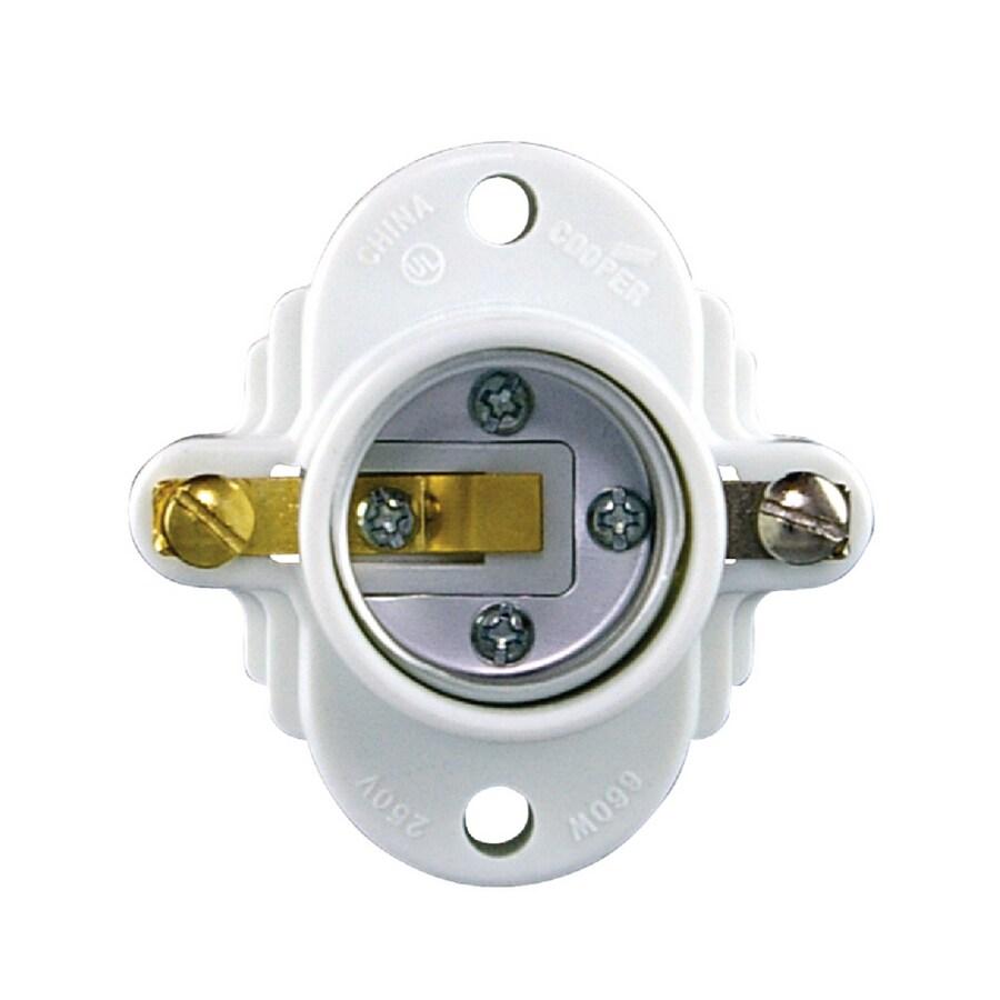 medium resolution of eaton 3 way 660 watt white hard wired cleat socket