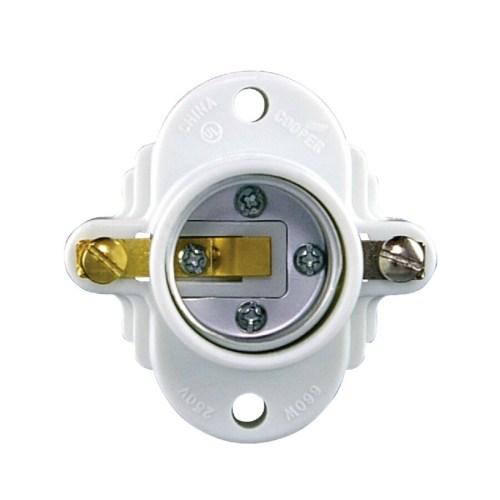 small resolution of eaton 3 way 660 watt white hard wired cleat socket