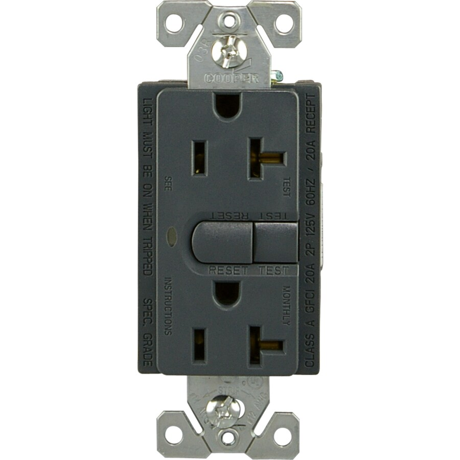 hight resolution of cooper wiring devices gfci aspire design system duplex receptacle 20 rh lowes com a single pole switch wiring cooper aspire catalog