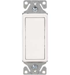 eaton 15 amp 3 way white rocker light switch [ 900 x 900 Pixel ]