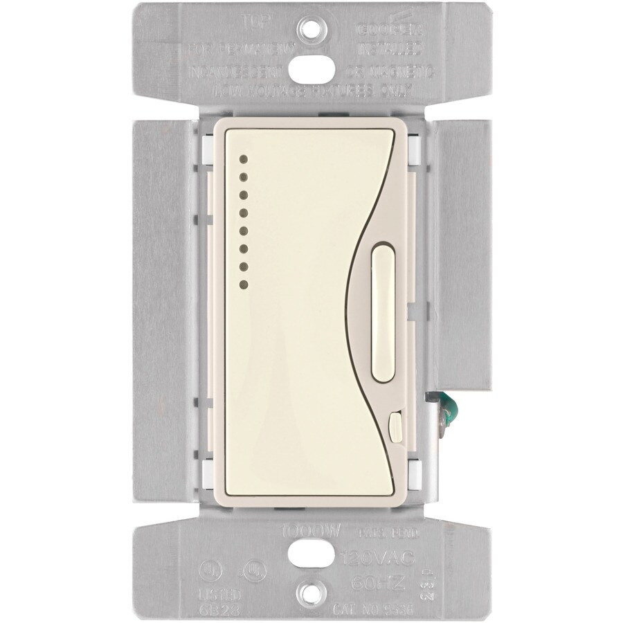 medium resolution of shop cooper wiring devices aspire 3 way dimmer at lowes com cooper wiring aspire collection cooper