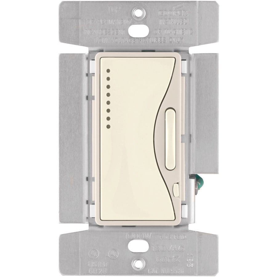 hight resolution of shop cooper wiring devices aspire 3 way dimmer at lowes com cooper wiring aspire collection cooper
