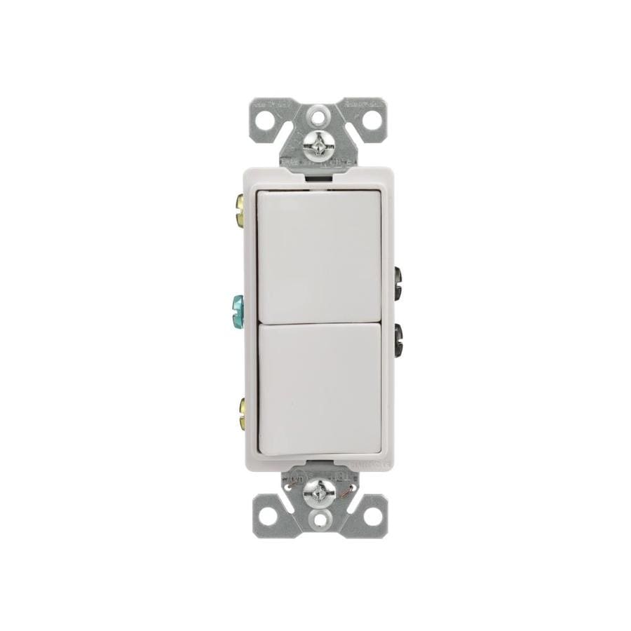 medium resolution of eaton 15 amp single pole white rocker light switch