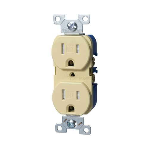 small resolution of cooper wiring devices 15 amp ivory tamper resistant duplex receptacle