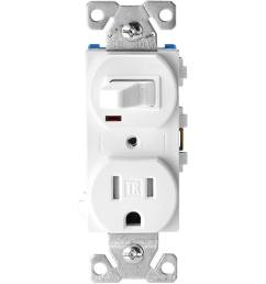 eaton white 15 amp duplex tamper resistant commercial outlet switch [ 900 x 900 Pixel ]