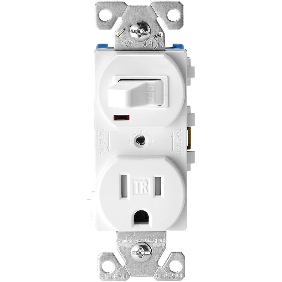 medium resolution of eaton white 15 amp duplex tamper resistant commercial outlet switch