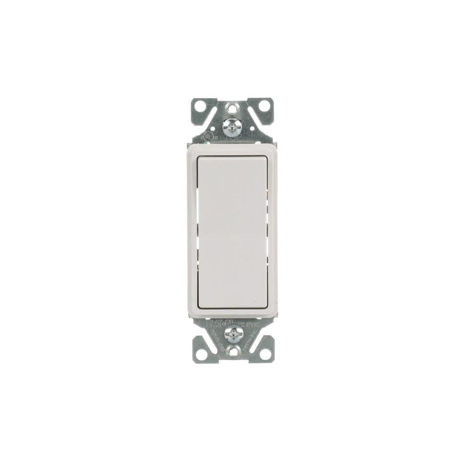medium resolution of eaton 15 amp 3 way white rocker residential light switch