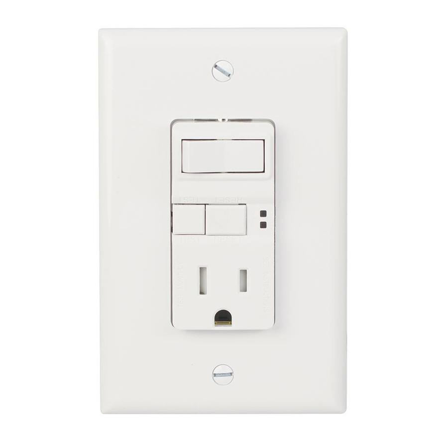 hight resolution of eaton white 15 amp decorator tamper resistant gfci residential cooper wiring devices 15 amp light switch and gfci single outlet