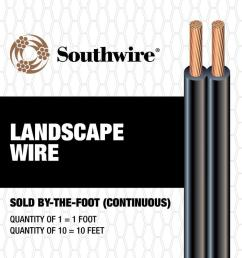 southwire 16 2 landscape lighting cable by the foot  [ 900 x 900 Pixel ]