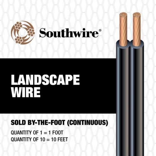 small resolution of southwire 16 2 landscape lighting cable by the foot