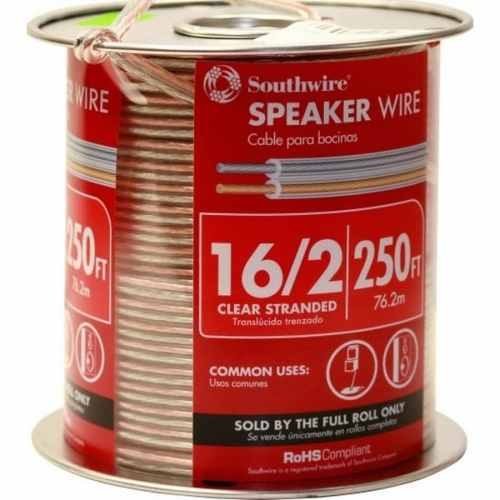 small resolution of 250 ft 16 awg to 2 standard speaker wire by the roll