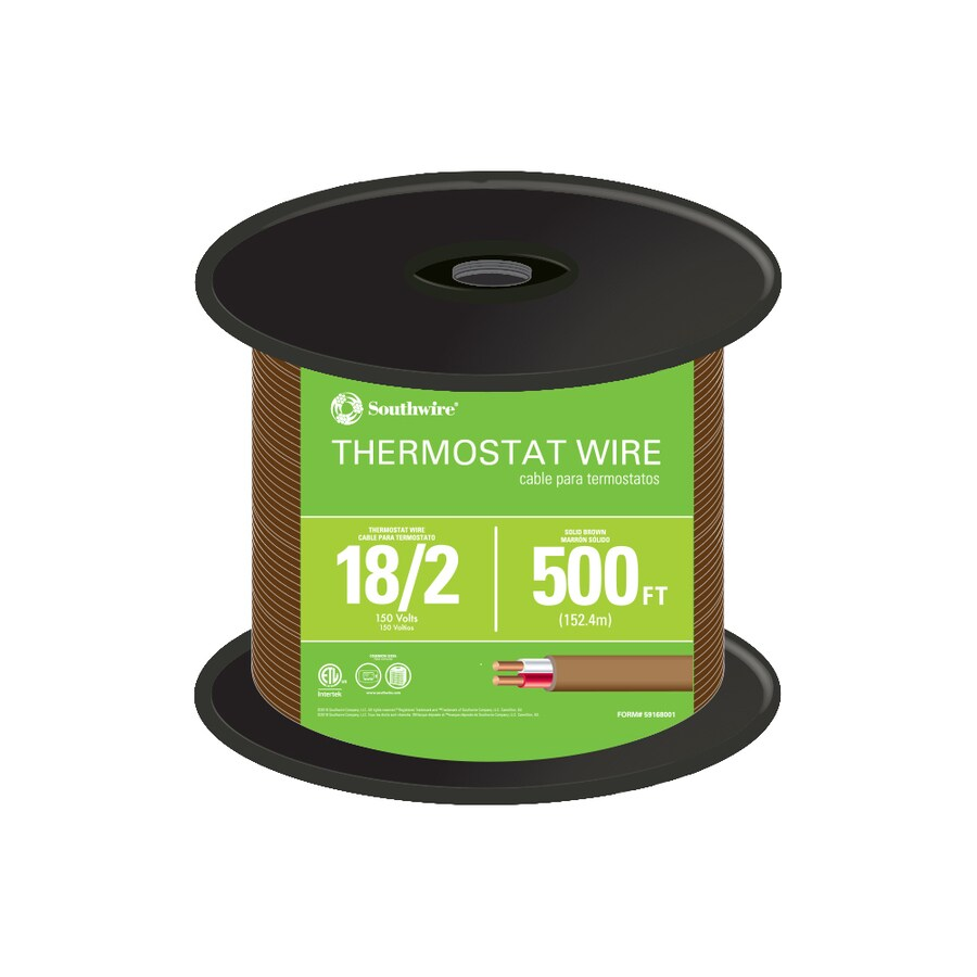 medium resolution of 500 ft 18 2 thermostat wire by the roll