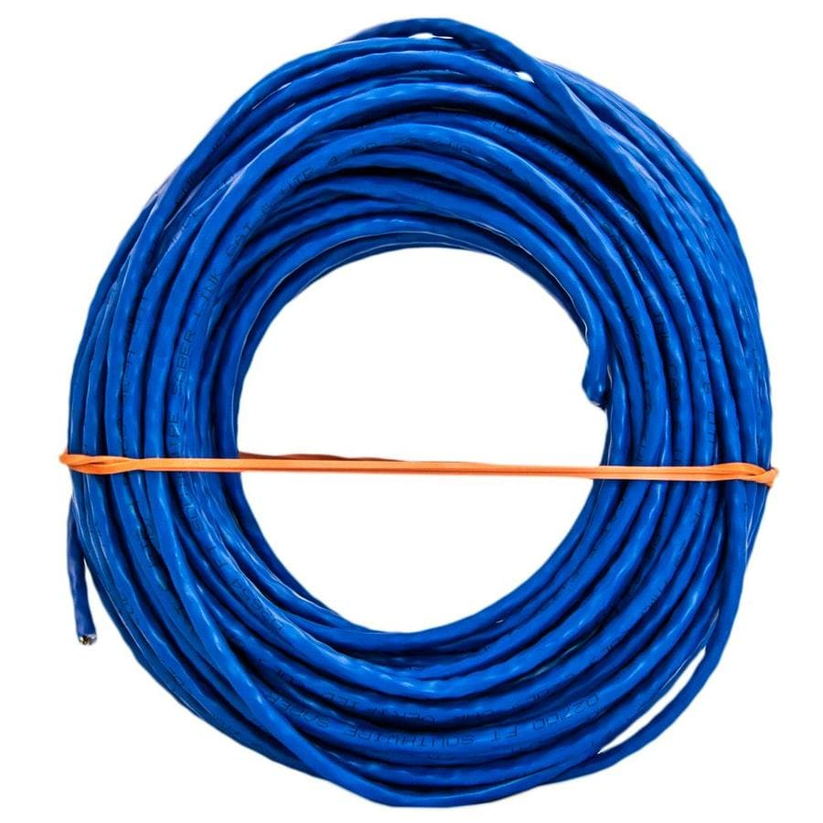 medium resolution of southwire 100 ft 23 awg 4 cat 6 ethernet riser blue data