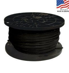 southwire 500 ft 8 awg stranded black copper thhn wire by the [ 900 x 900 Pixel ]