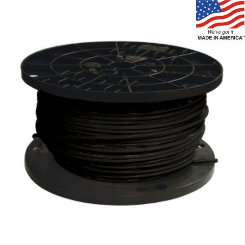 small resolution of southwire 500 ft 8 awg stranded black copper thhn wire by the