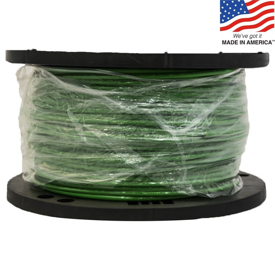 hight resolution of southwire 500 ft 8 awg stranded green copper thhn wire by the