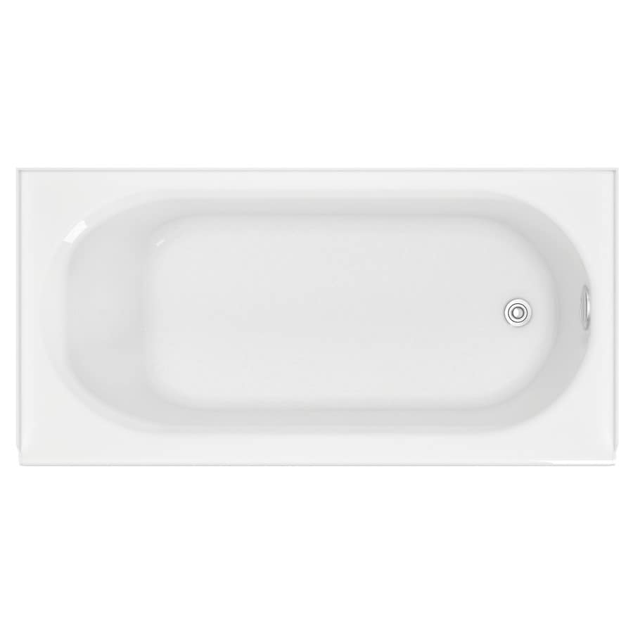 Shop American Standard Princeton 60 In White With Right