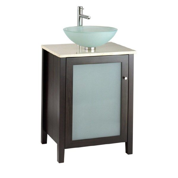 American Standard Cardiff Espresso Contemporary Bathroom