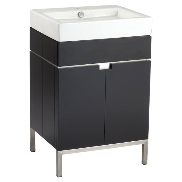 American Standard Studio 22-in Espresso Bathroom Vanity