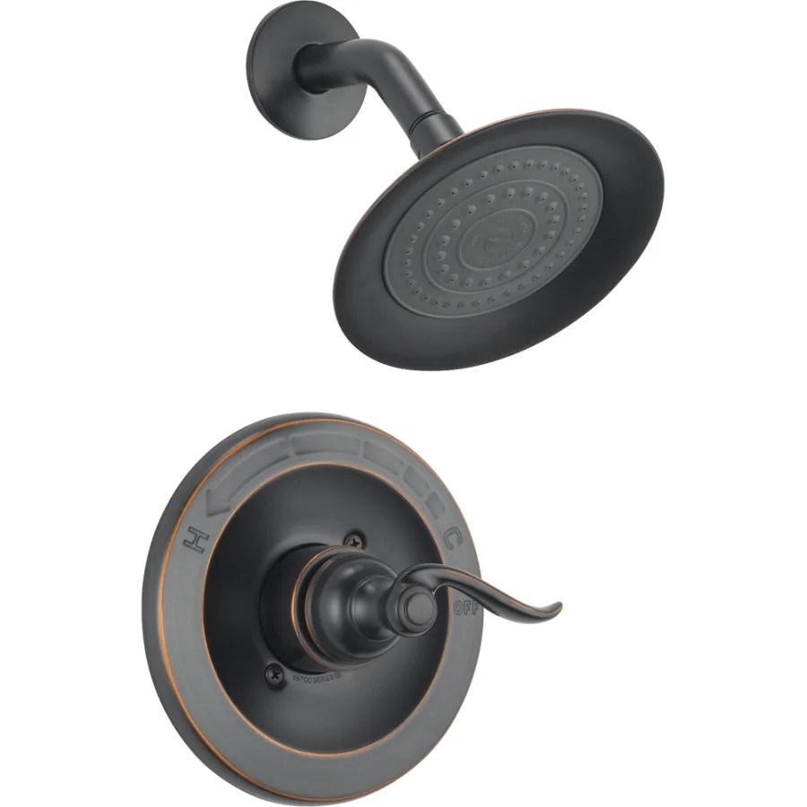 Shop Delta Windemere Oil Rubbed Bronze 1 Handle Shower