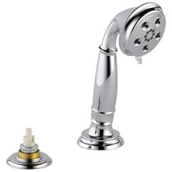 Delta Cassidy Kitchen Faucet Cutting Board Countertop Shop With H2okinetic Chrome 1-spray Shower ...