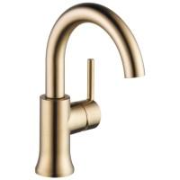 Shop Delta Trinsic Champagne Bronze 1-handle 4-in ...