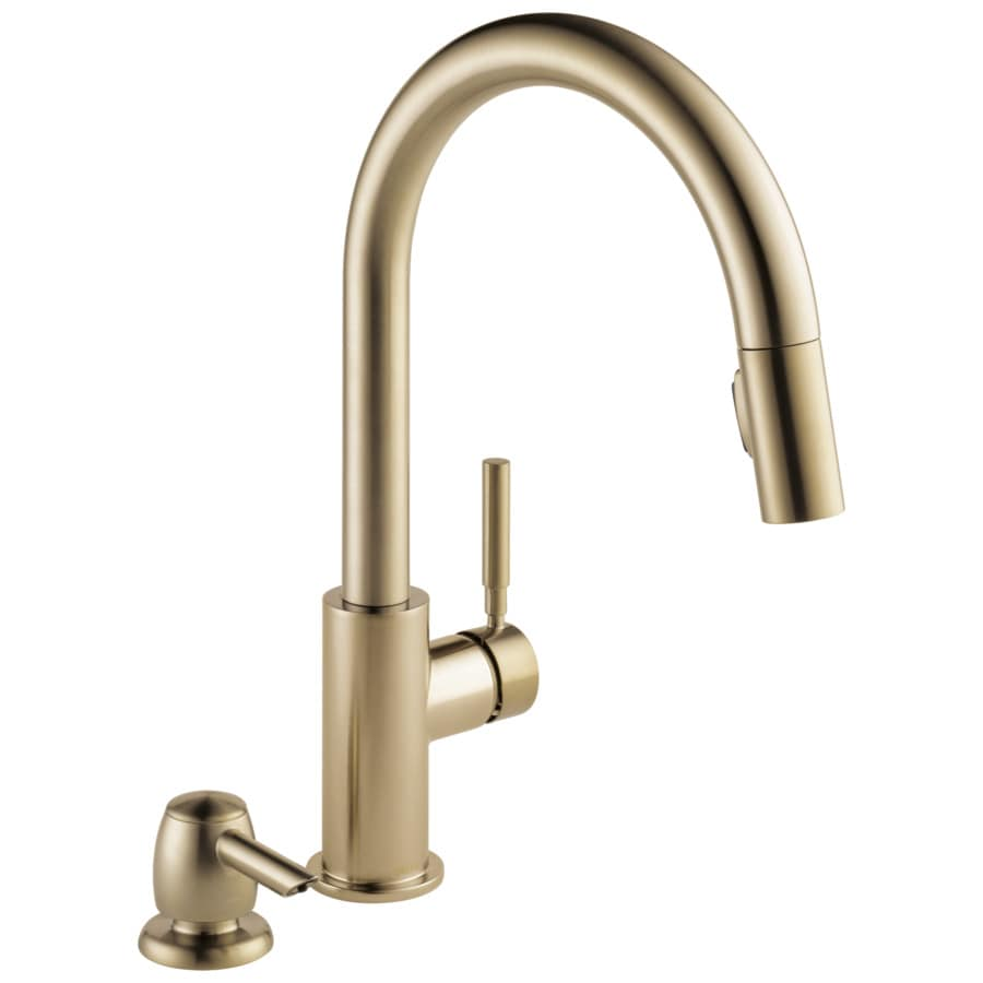 gold kitchen faucets at lowes com