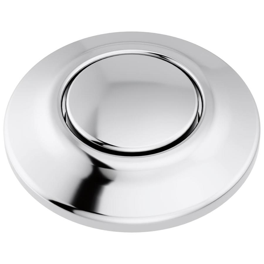 delta faucet delta 1 75 in chrome plastic garbage disposal switch