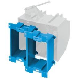 carlon blue plastic interior new work standard box extender wall electrical box [ 900 x 900 Pixel ]