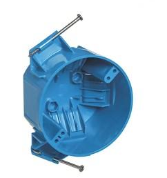 carlon 1 gang blue pvc interior new work standard round ceiling electrical box [ 900 x 900 Pixel ]