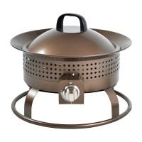 Shop Garden Treasures 18.5-in W 54,000-BTU Bronze Portable ...