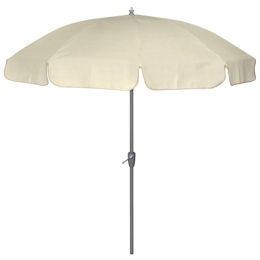 7 6 sunbrella canvas round patio