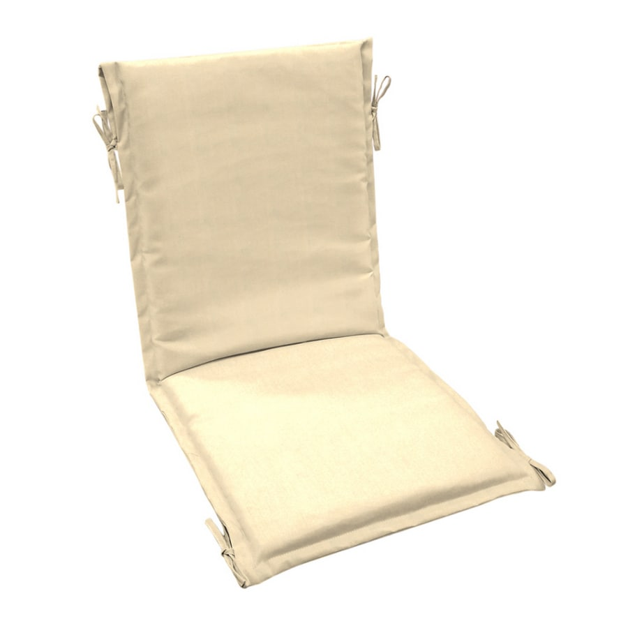 canvas sling chair swing toronto arden outdoor solid cushion at lowes com