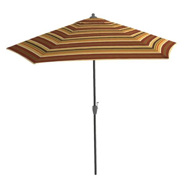 Arden Outdoor 9' Cassidy Stripe Patio Umbrella