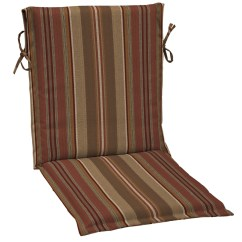 Sling Back Chair 3 In 1 High Allen Roth Stripe Cushion For At Lowes Com