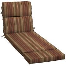Allen Roth Stripe Standard Patio Chair Cushion