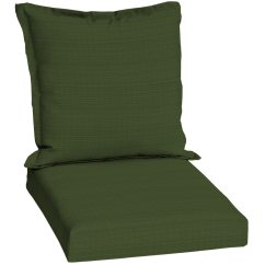 Lowes Outdoor Chair Cushions Cover Rental Houston Sunbrella Dupione Palm Green Solid Patio Cushion At Com