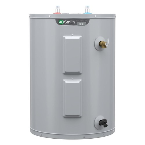 small resolution of a o smith signature 48 gallon lowboy 6 year limited 4500 watt double element electric water heater